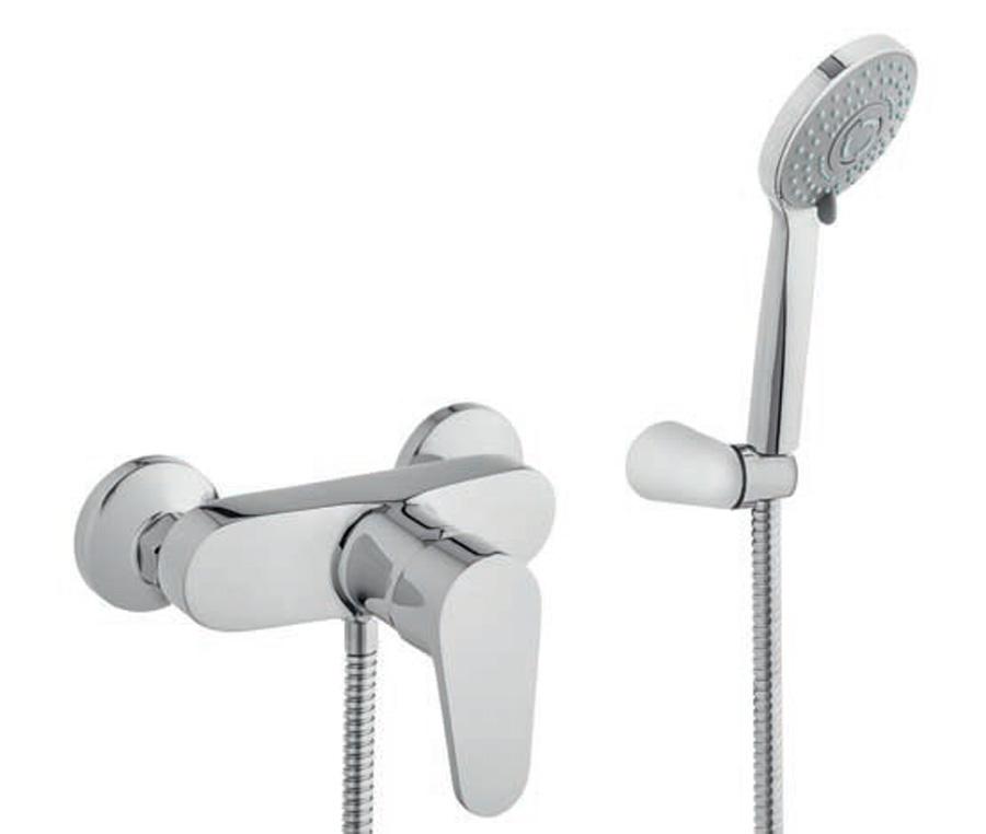 Duscharmatur Komplett Set Bad Dusche Badezimmer Brause Armatur