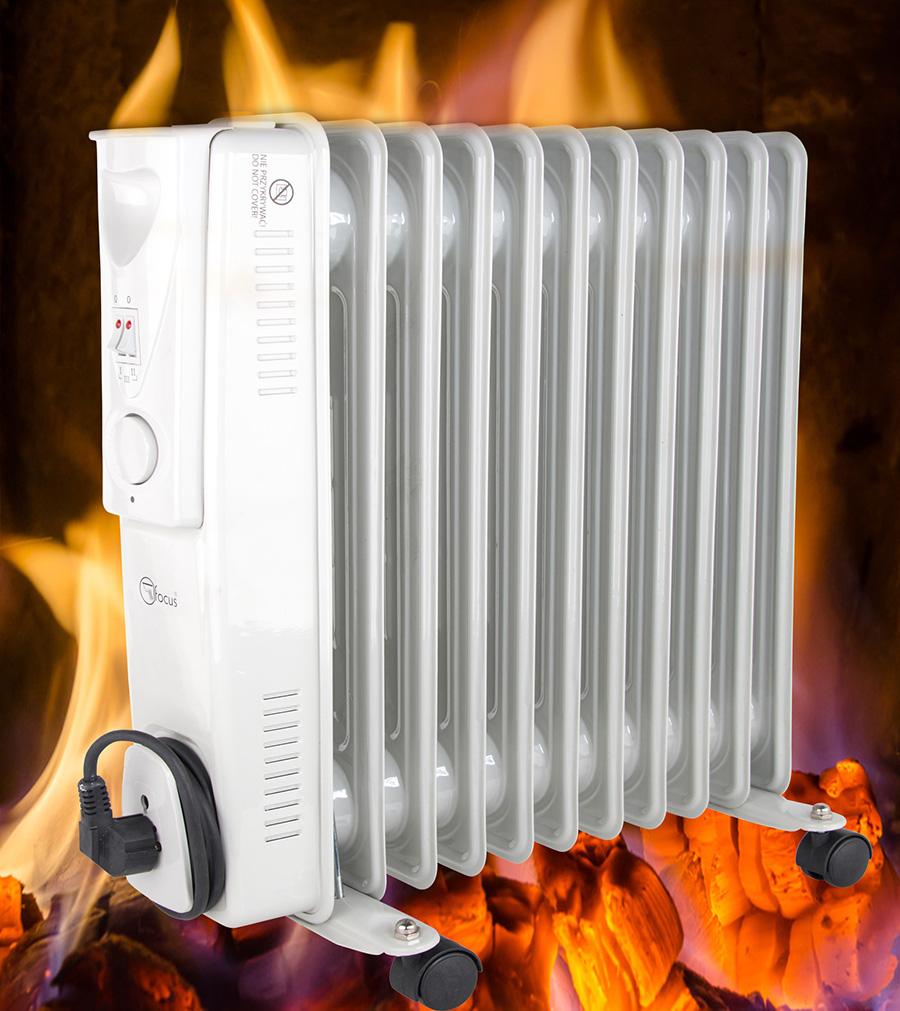 Radiador de aceite calefacci n calentador electro 2500w - Calefaccion de aceite ...