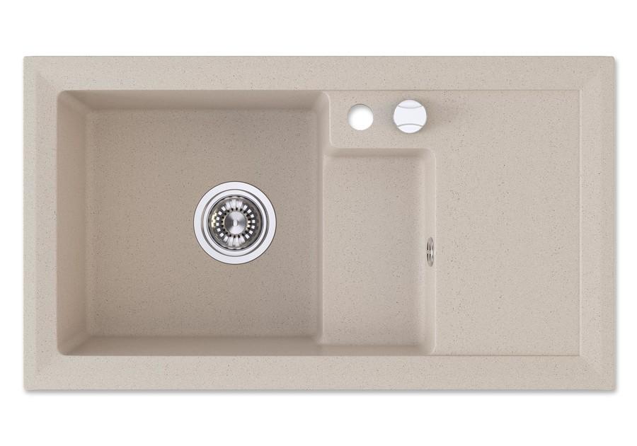 Granit Spüle Küchenspüle Küchen Becken Spülbecken Granitspüle + ...