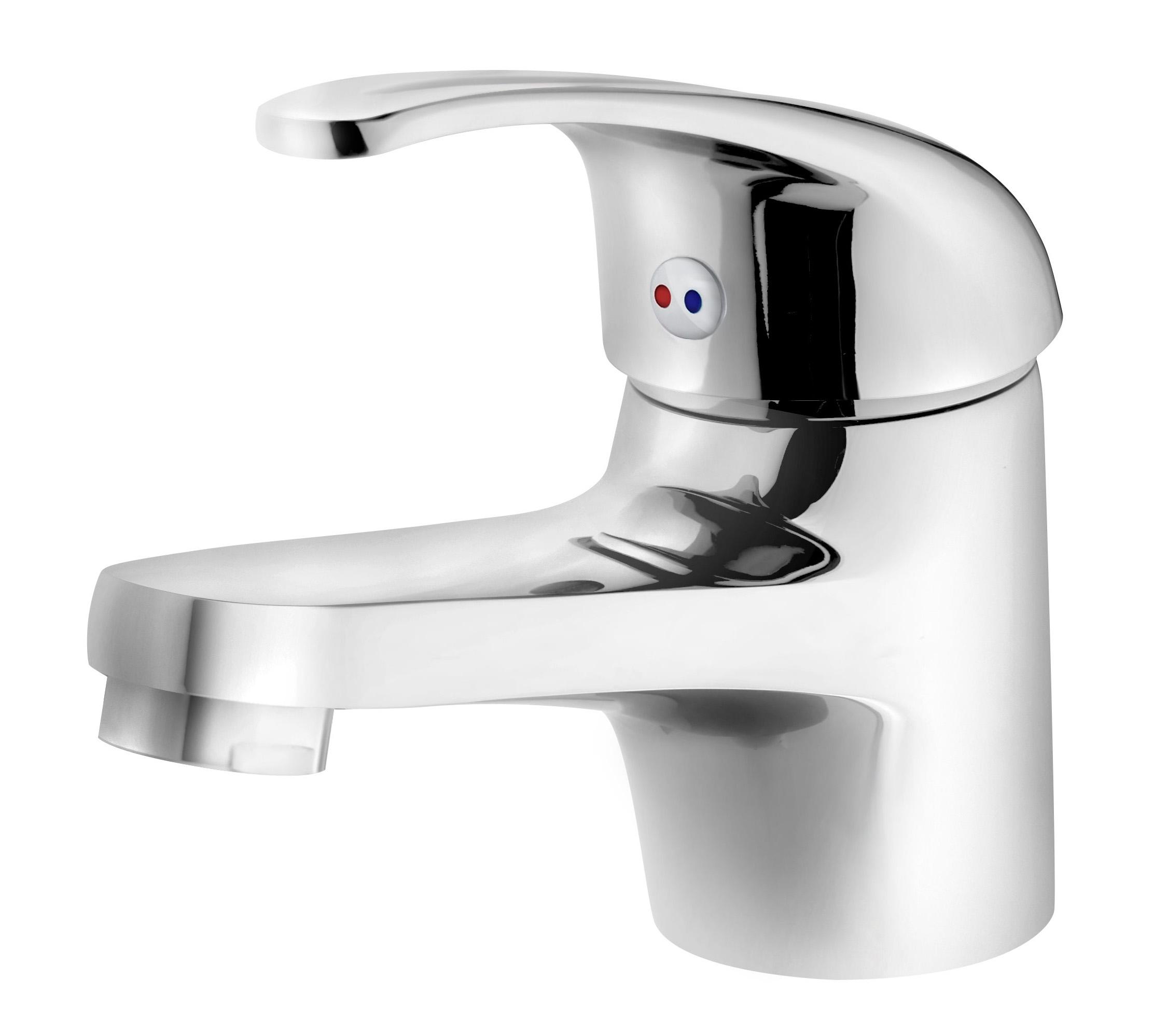 Waschtisch waschbecken einhand armatur wasserhahn for Armatur wasserfall