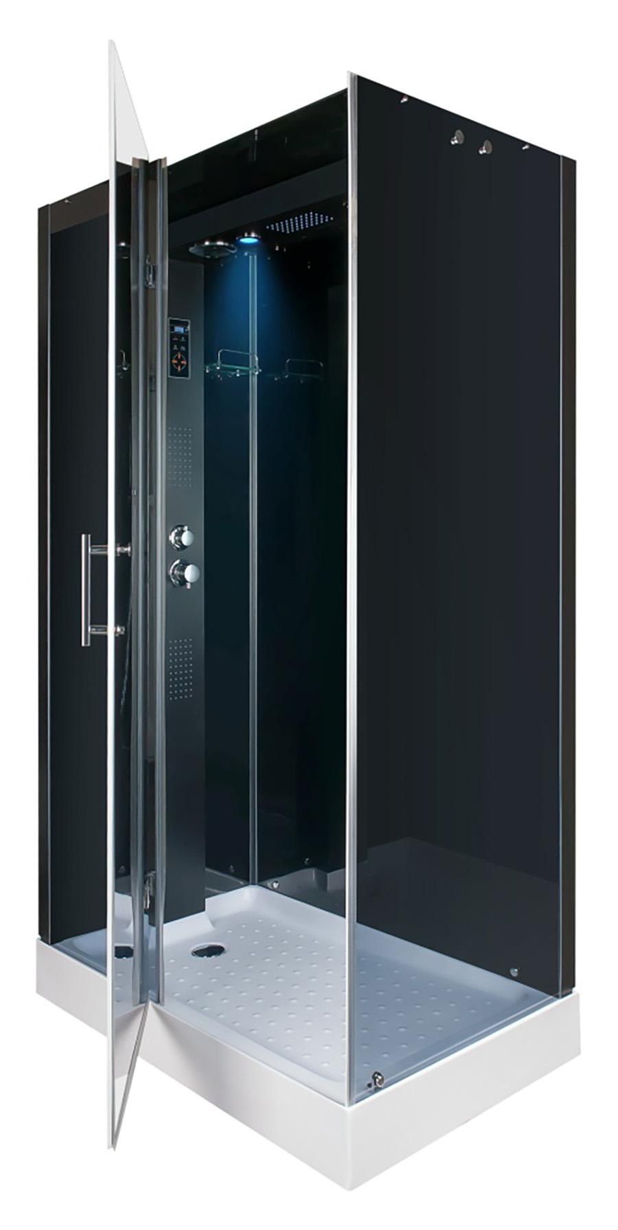 duschkabine regendusche fertigdusche dusche duschtempel duschwand badewanne d05 ebay. Black Bedroom Furniture Sets. Home Design Ideas