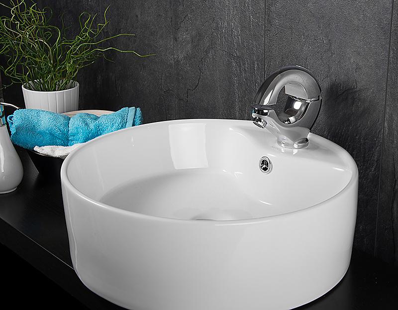 Badezimmerarmaturen Hersteller : DESIGN KERAMIK WASCHSCHALE & Armatur ...