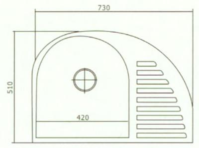 edelstahl k chensp le ovalsp le einbausp le sp le zub sp lbecken sp ltisch. Black Bedroom Furniture Sets. Home Design Ideas