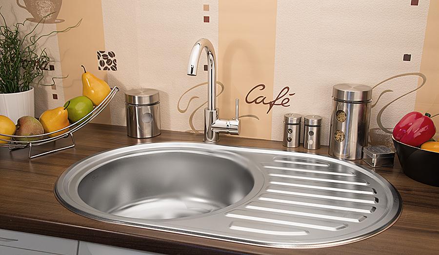 edelstahl k chensp le rundsp le waschbecken einbausp le. Black Bedroom Furniture Sets. Home Design Ideas