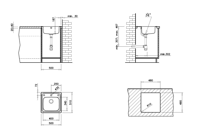 Teka Eline 1C MTX Edelstahl Spüle Küchenspüle Einbauspüle  ~ Spülbecken Teka