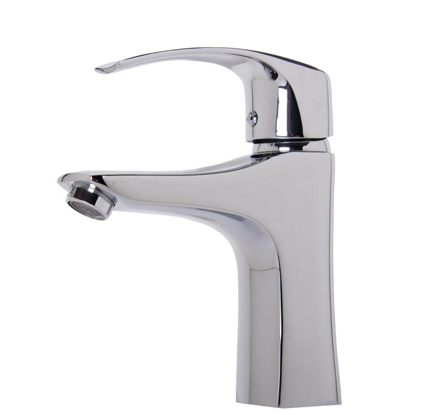 W45 rubinetto lavabo lavandino bagno cucina miscelatore monocomando nuovo ebay - Rubinetto lavandino bagno ...