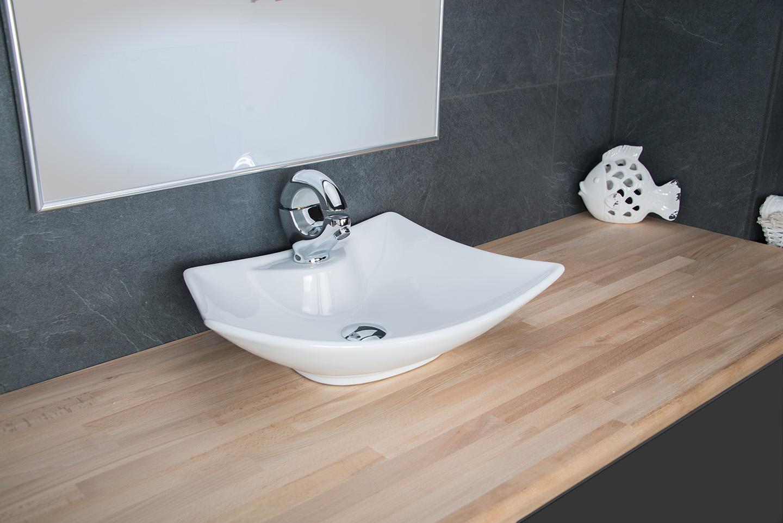 design aufsatzwaschbecken waschschale keramik waschtisch badezimmer waschplatz. Black Bedroom Furniture Sets. Home Design Ideas