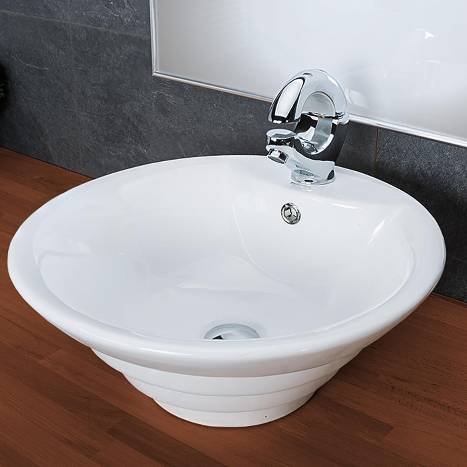 Design Keramik Waschschale Aufsatzwaschbecken Waschtisch ...